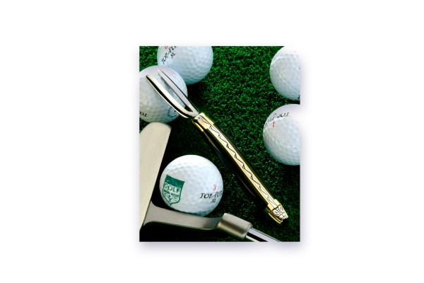 LAGUIOLE GOLF mit Pitch-Repair Forge de Laguiole Hornspitze blond/geflammt