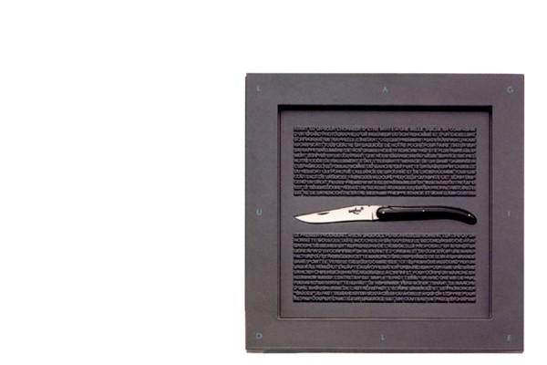 Petit-LAGUIOLE Modell PHILIPPE STARCK Forge de Laguiole series DESIGN black buffalo horn tip