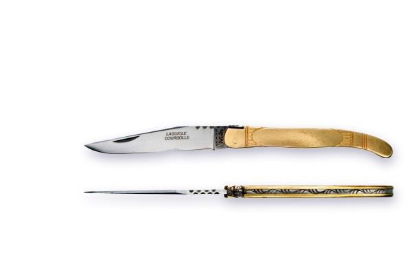 LAGUIOLE Modell ART-DECO Atelier COUPÉRIER-COURSOLLE® series TRADITION brass
