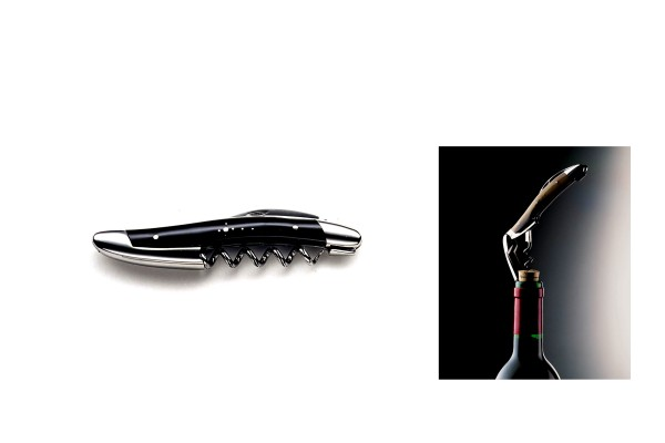 SOMMELIER Forge de Laguiole pointe de corne noir buffle