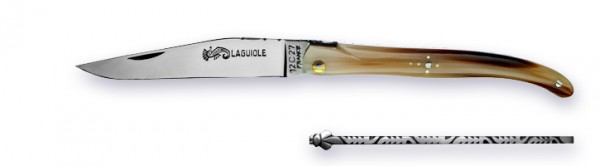 Grand-LAGUIOLE Atelier ARTO® series LUXE voller Griff blonde horn tip