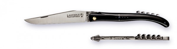 LAGUIOLE series LUXE Atelier PassionFrance black buffalo horn tip